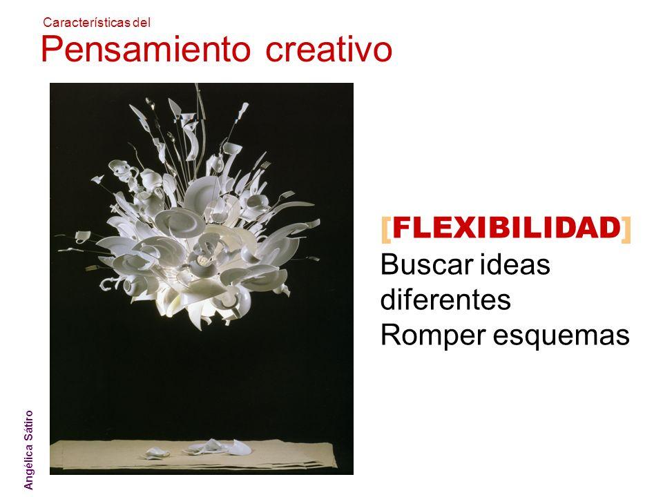 Pensamiento creativo [FLEXIBILIDAD] Buscar ideas diferentes